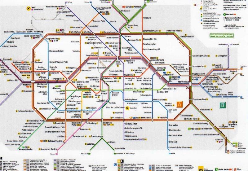 Db Karte Berlin.Sbahn Karte Berlin