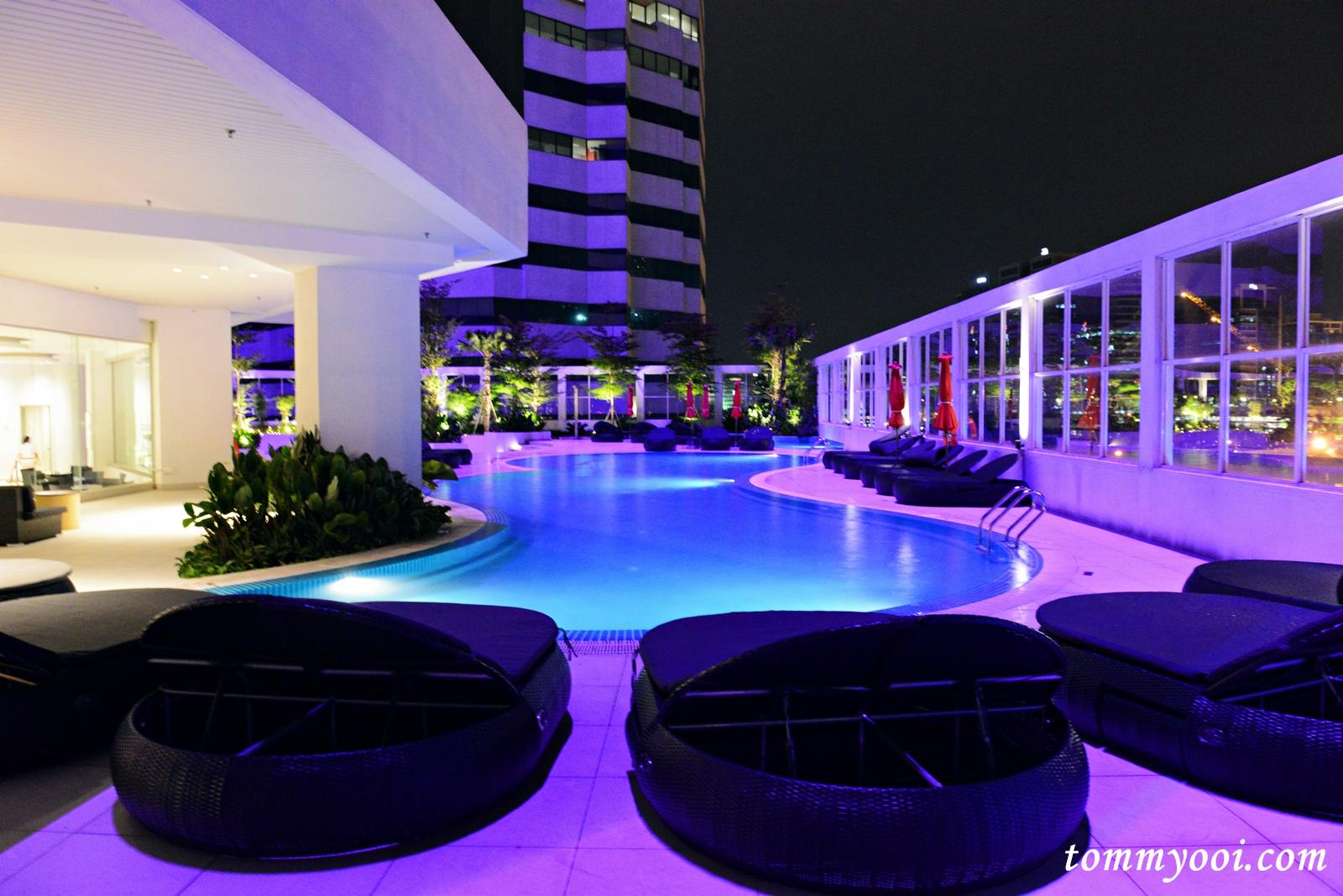 Pullman kuala lumpur bangsar tommy ooi travel guide - Piccolo hotel kuala lumpur swimming pool ...