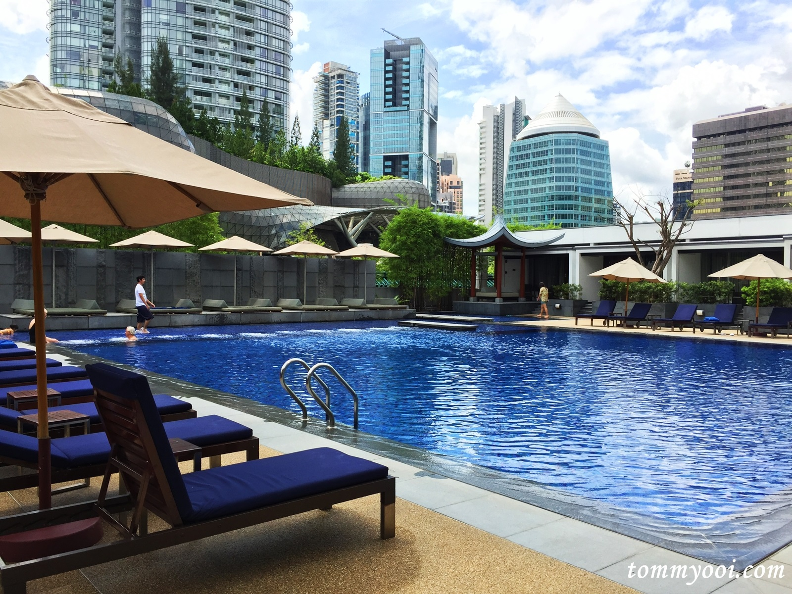 Singapore Marriott Tang Plaza Hotel Tommy Ooi Travel Guide
