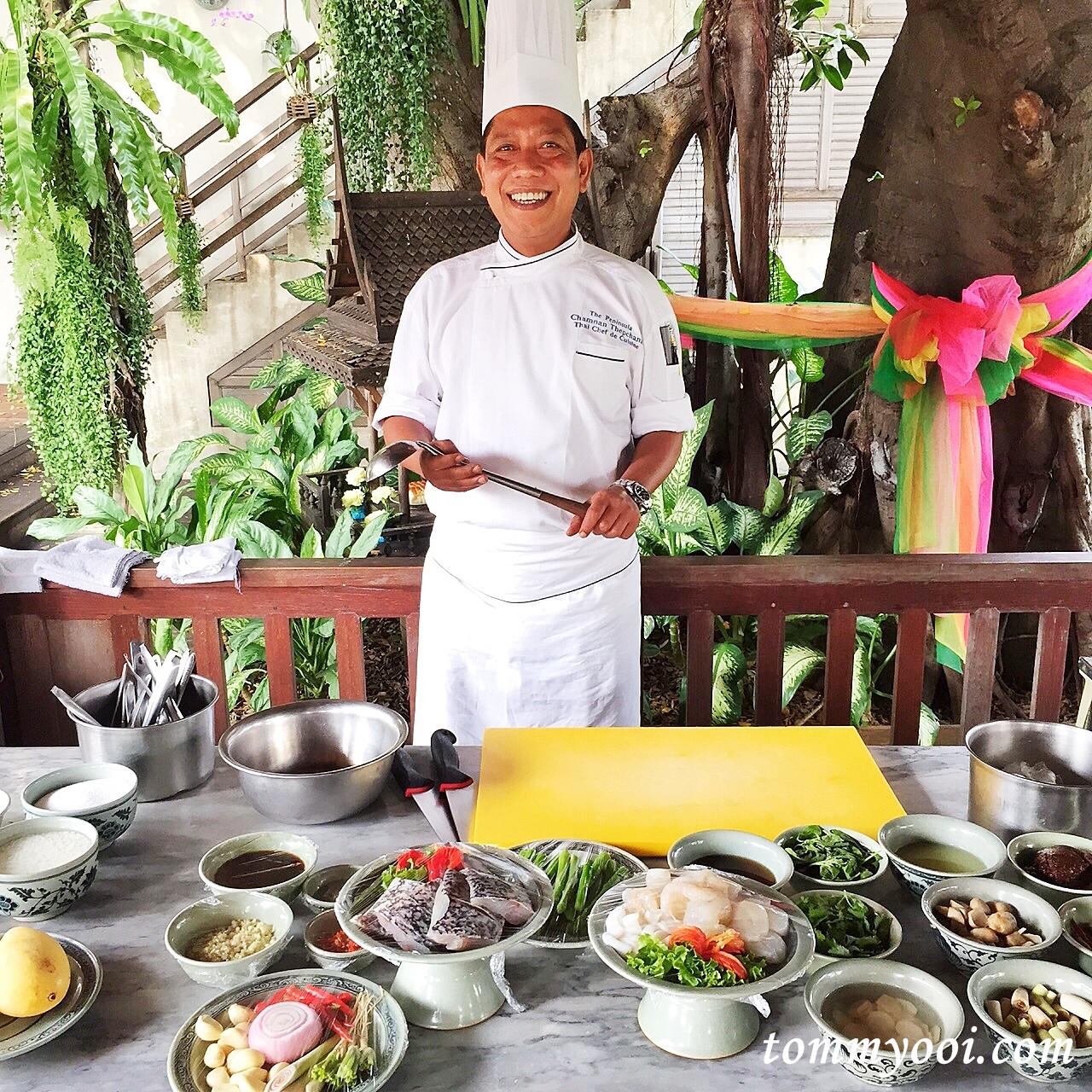 The peninsula bangkok academy joy of thai cuisine at for Academy de cuisine