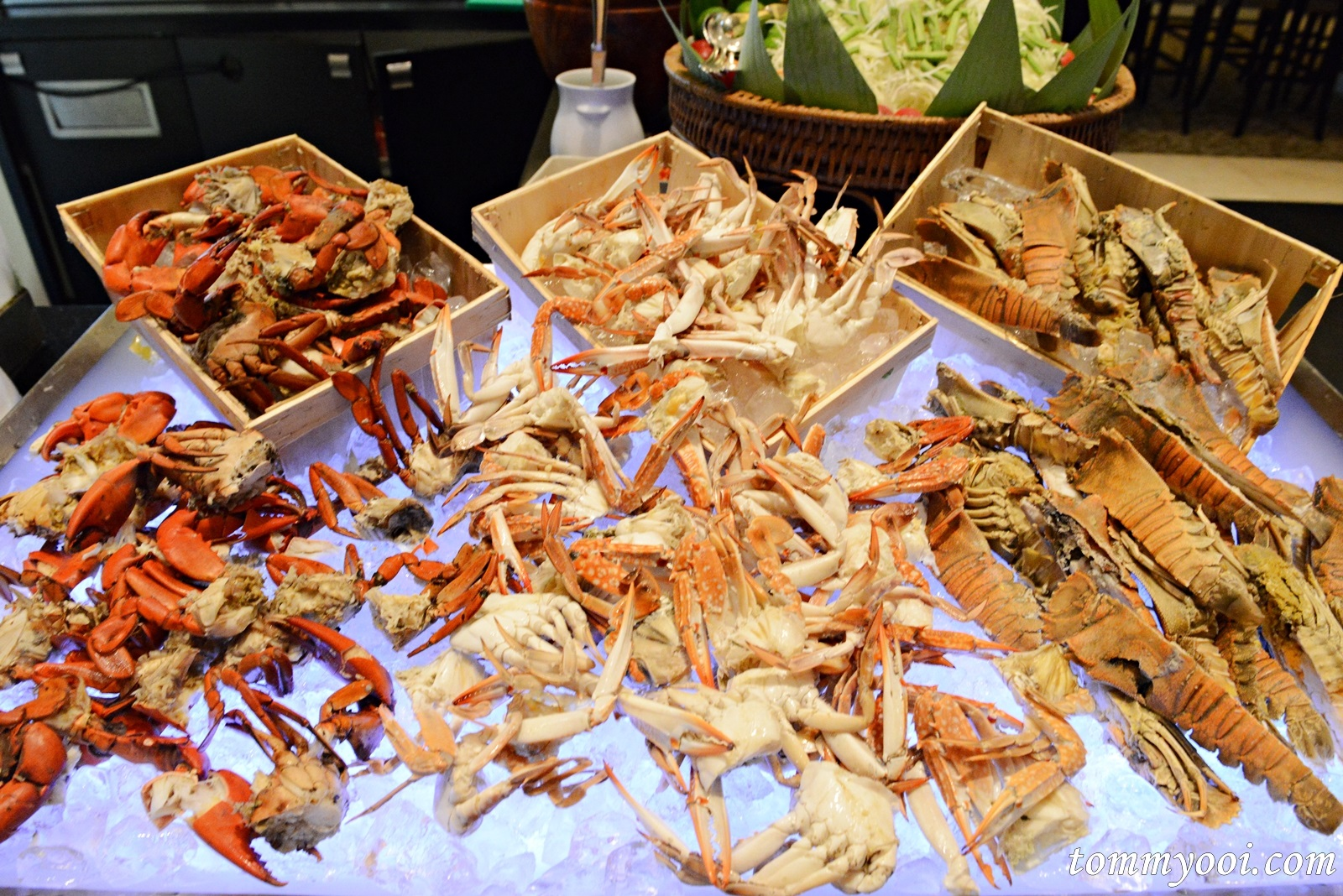 Pullman Bangkok King Power Oh Crab Festival Buffet Tommy